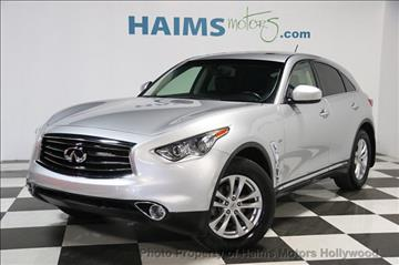2014 Infiniti QX70 for sale in Hollywood, FL