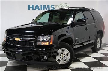 2013 Chevrolet Tahoe for sale in Hollywood, FL