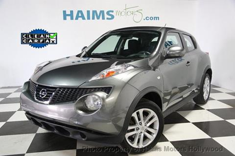 2013 Nissan JUKE for sale in Hollywood, FL