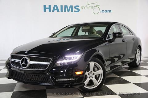 2013 Mercedes-Benz CLS for sale in Hollywood, FL