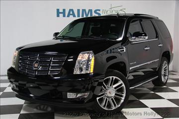 2014 Cadillac Escalade for sale in Hollywood, FL
