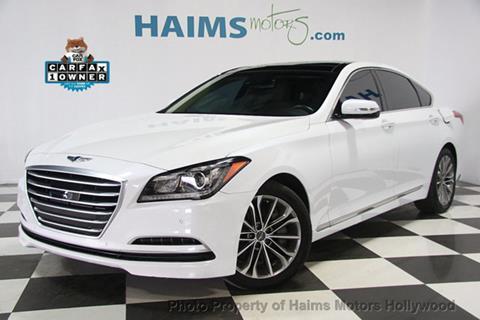 2015 Hyundai Genesis for sale in Hollywood, FL