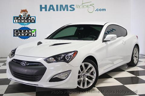 2016 Hyundai Genesis Coupe for sale in Hollywood, FL
