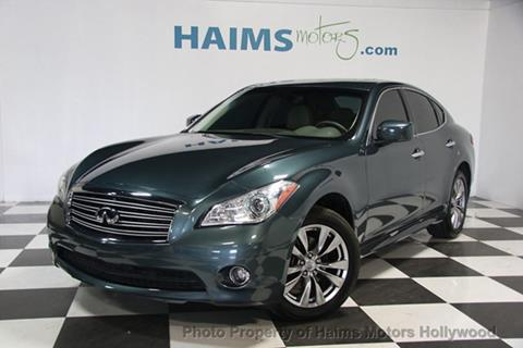 2012 Infiniti M37 for sale in Hollywood, FL