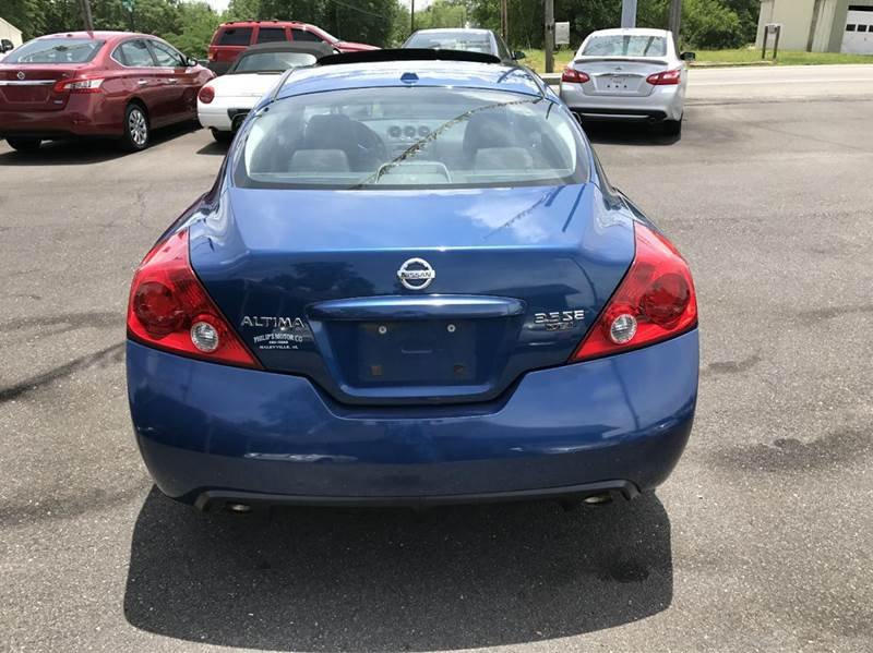 2008 Nissan Altima 3.5 SE 2dr Coupe CVT - Haleyville AL