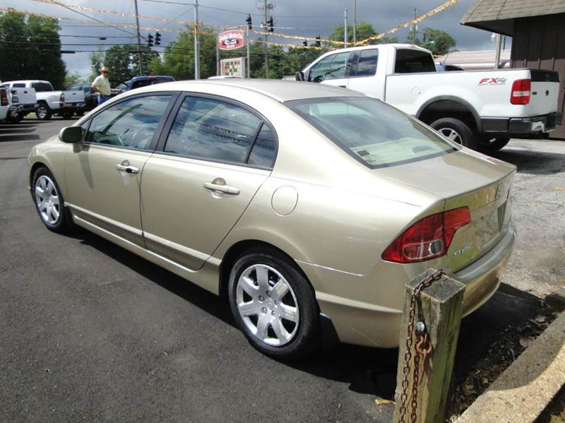 2007 Honda Civic LX 4dr Sedan (1.8L I4 5A) - Haleyville AL