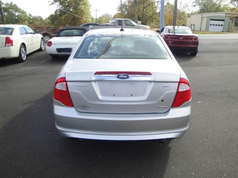 2011 Ford Fusion SEL 4dr Sedan - Haleyville AL