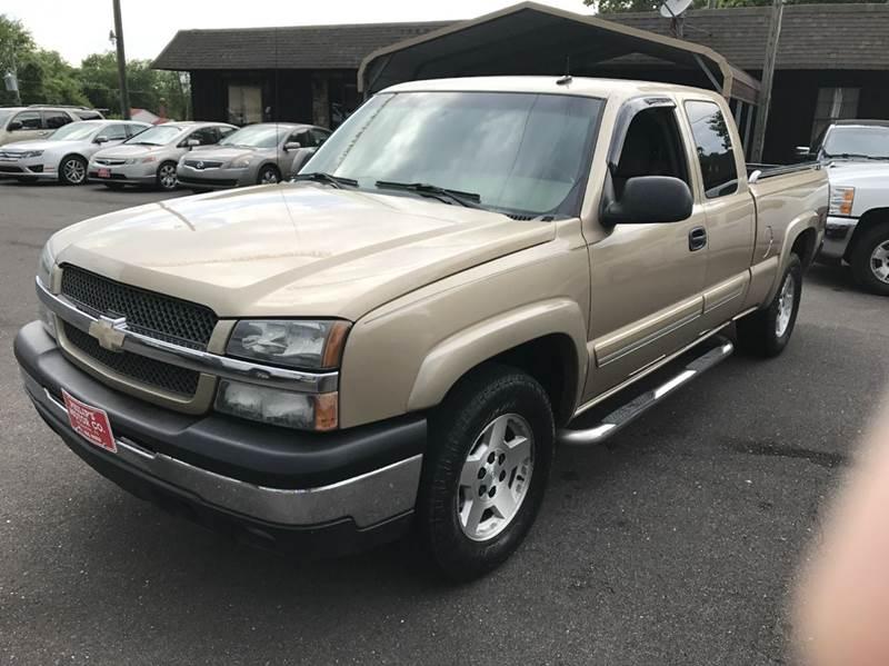 2004 Chevrolet Silverado 1500 4dr Extended Cab Z71 4WD SB - Haleyville AL