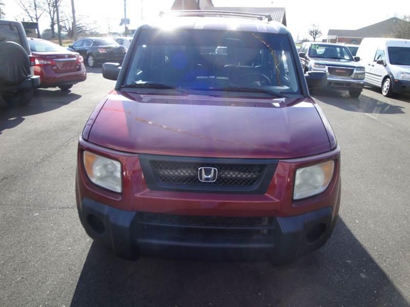 2006 Honda Element AWD EX-P 4dr SUV 4A - Haleyville AL