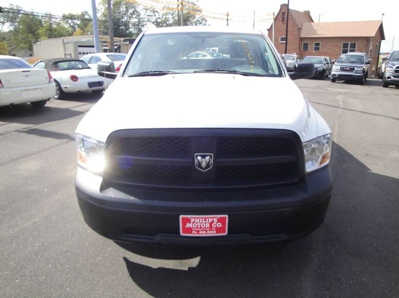 2012 RAM Ram Pickup 1500 4x2 ST 2dr Regular Cab 8 ft. LB Pickup - Haleyville AL