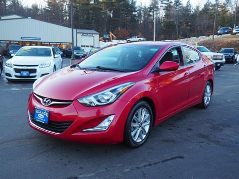Hyundai elantra for sale in maine for Village motors south berwick