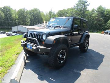 Used jeep wrangler for sale maine for Village motors south berwick
