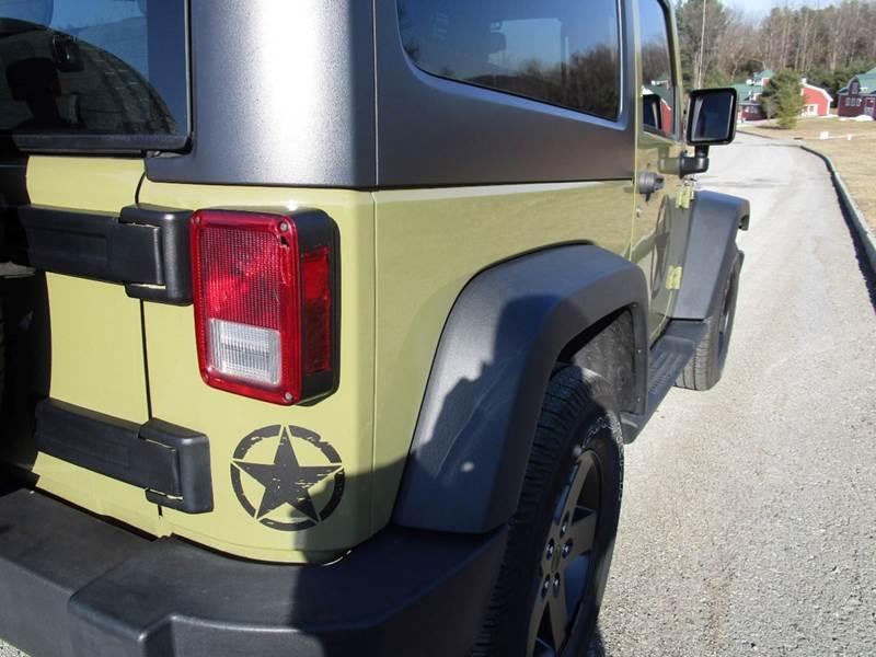2013 Jeep Wrangler Sport  4x4 2dr SUV - Poughkeepsie NY