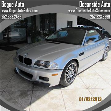 2004 BMW M3 for sale in Newport, NC