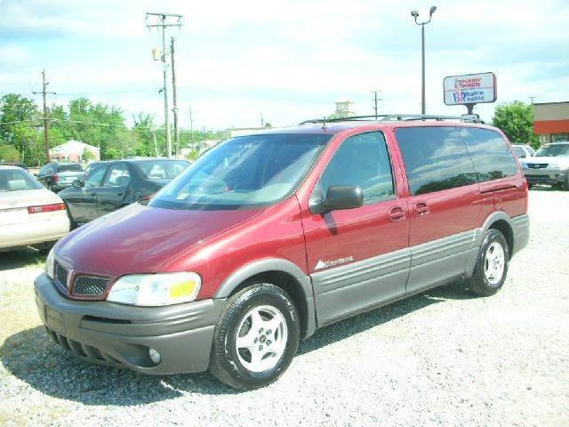 2001 Pontiac Montana Convenience 7 Seat 4dr Ext Minivan In