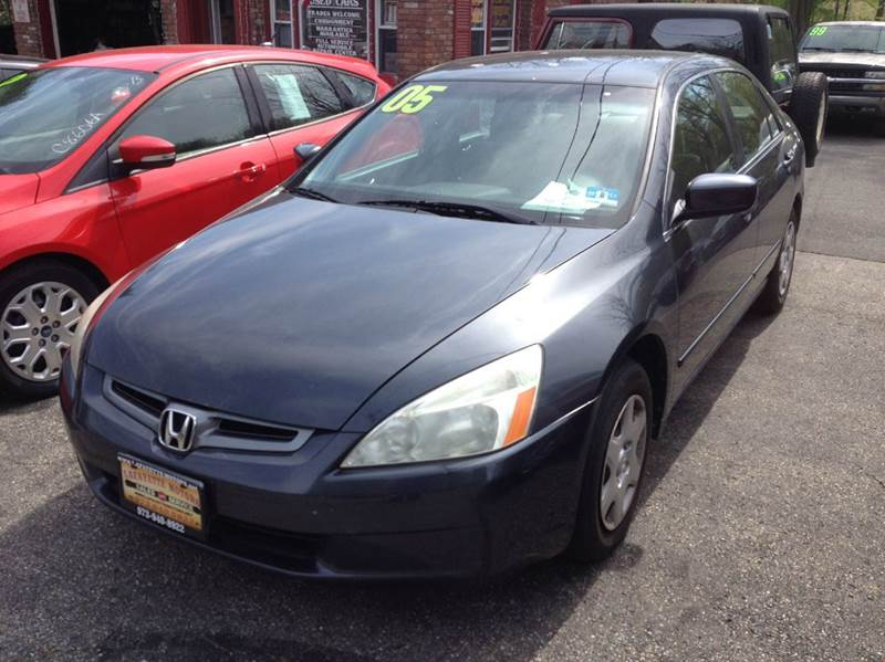 2005 honda accord lx pzev 4dr sedan in lafayette nj lafayette motors. Black Bedroom Furniture Sets. Home Design Ideas