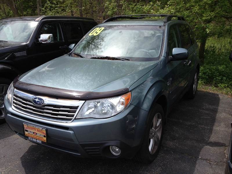 2009 subaru forester 2 5 x limited awd 4dr wagon 4a in lafayette nj lafayette motors. Black Bedroom Furniture Sets. Home Design Ideas