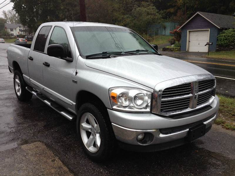 2007 dodge ram pickup 1500 slt 4dr quad cab 4wd sb in lafayette nj lafayette motors. Black Bedroom Furniture Sets. Home Design Ideas
