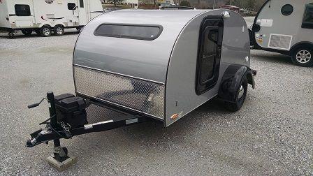 2012 Little Guy Teardrop Camper 5x10 Silver Shadow