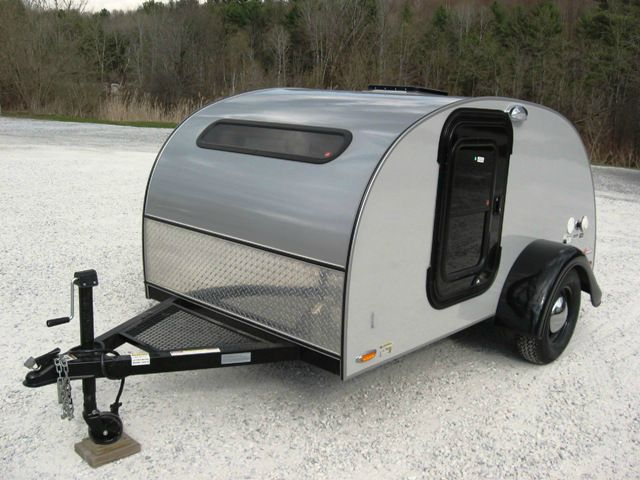 2014 LITTLE GUY TEARDROP CAMPER 5X10 SILVER SHADOW