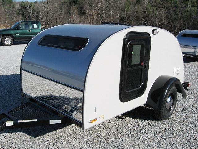 2015 Little Guy Teardrop Camper 5x10 Silver Shadow