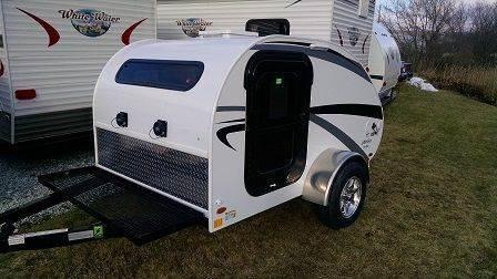 2015 Little Guy Teardrop Camper 5 Wide Platform