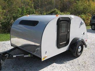 2015 Little Guy Teardrop Camper 6x10 Silver Shadow