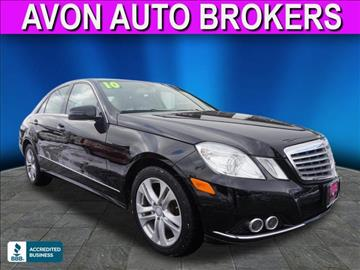 Mercedes Benz E Class For Sale Massachusetts