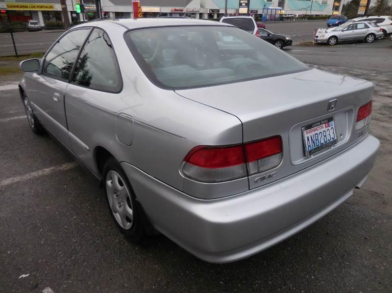 1999 honda civic coupe value