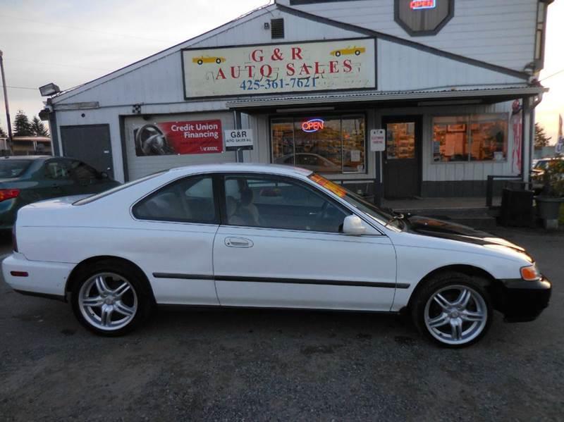 1996 Honda Accord LX 2dr Coupe   Lynnwood WA