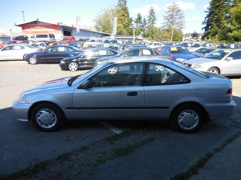 1999 Honda Civic DX 2dr Coupe - Lynnwood WA