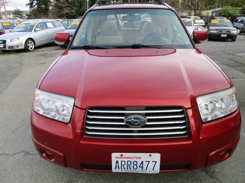 2007 Subaru Forester AWD 2.5 X Premium Package 4dr Wagon (2.5L F4 5M) - Lynnwood WA