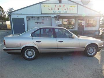 1991 BMW 5 Series