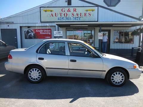 Toyota Corolla For Sale In Lynnwood Wa