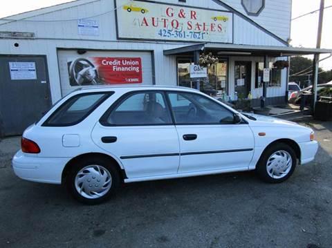1999 Subaru Impreza For Sale In Lynnwood WA