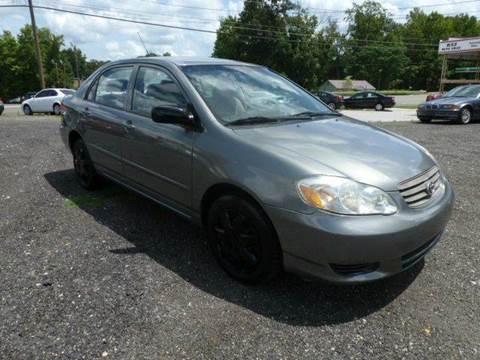 2004 Toyota Corolla For Sale North Carolina Carsforsale