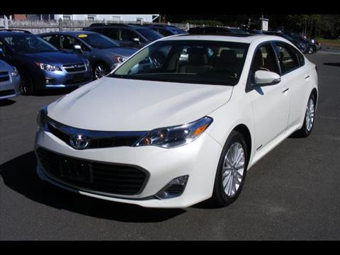 2014 Toyota Avalon Hybrid for sale in Canton, CT