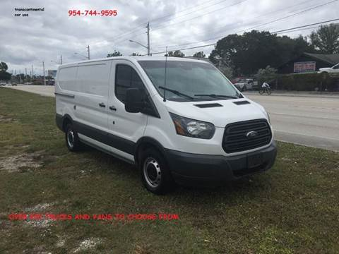 c96d498ab5 2016 Ford Transit Cargo for sale in Pompano Beach