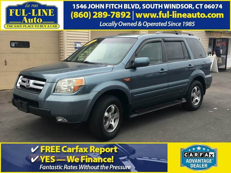 2006 Honda Pilot Ex 4dr Suv 4wd In South Windsor Ct Ful Line Auto Rh Ful  Lineauto Com Honda Accord Transmission Problems Honda Pilot Transmission  Service