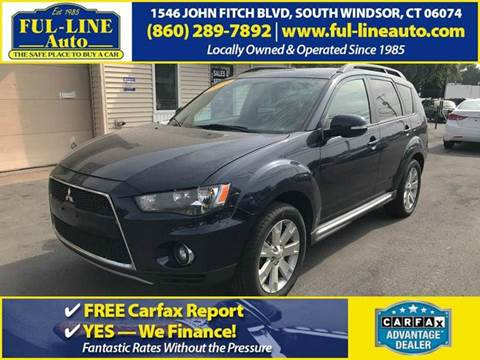2010 Mitsubishi Outlander for sale in South Windsor, CT