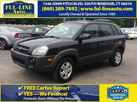 2007 Hyundai Tucson for sale in South Windsor, CT