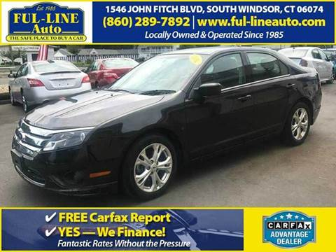 2012 Ford Fusion for sale in South Windsor, CT
