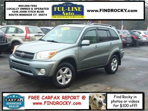 2005 Toyota RAV4 for sale in South Windsor, CT