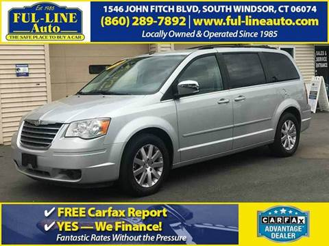 2008 Chrysler Town and Country for sale in South Windsor, CT
