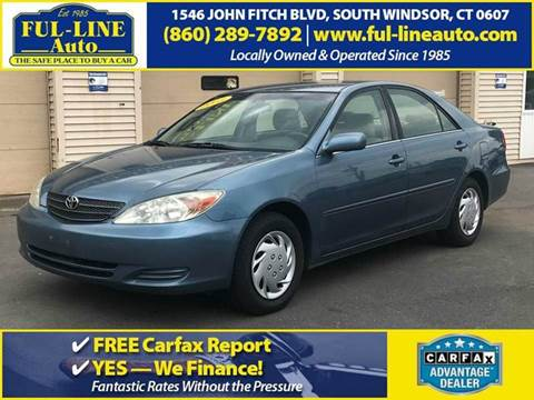 2003 Toyota Camry for sale in South Windsor, CT