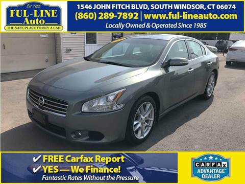 2010 Nissan Maxima for sale in South Windsor, CT
