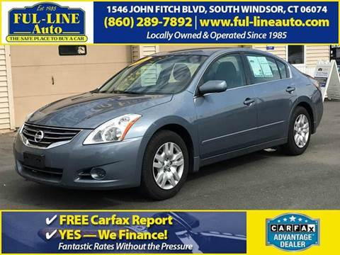 2012 Nissan Altima for sale in South Windsor, CT
