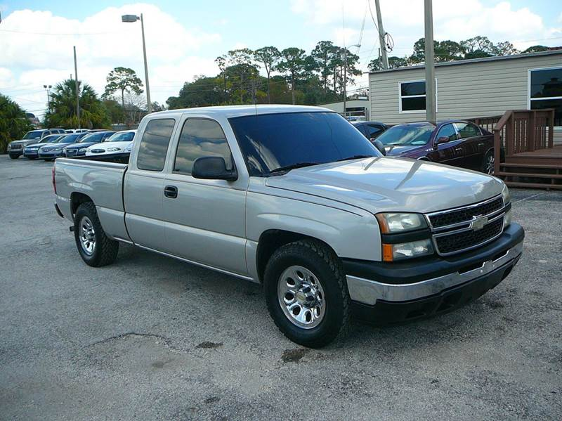 2007 chevrolet silverado 1500 classic ls 4dr extended cab 6 5 ft sb in port richey fl. Black Bedroom Furniture Sets. Home Design Ideas