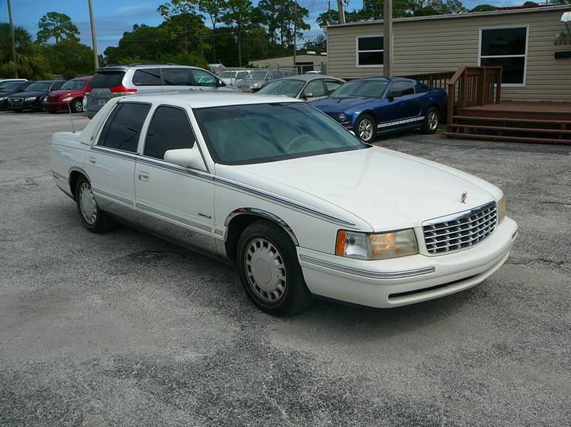1999 cadillac deville 4dr sedan in port richey fl. Black Bedroom Furniture Sets. Home Design Ideas