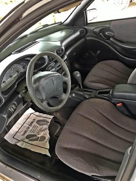 2002 Pontiac Sunfire SE 4dr Sedan - Onarga IL
